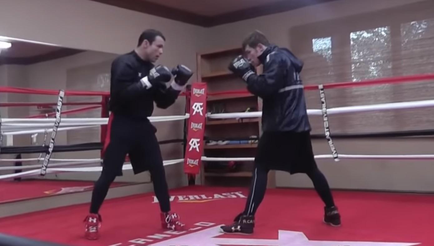 Сауль Canelo Альварес - подготовка к бою против Роки Филдинга