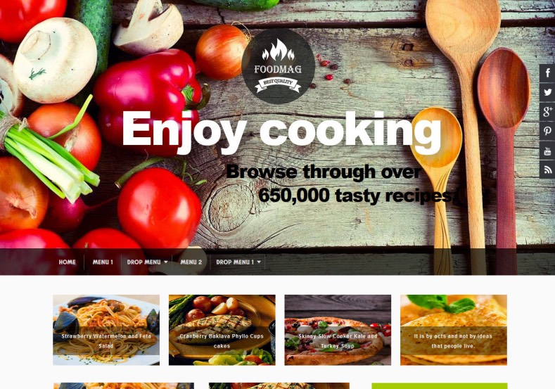 Food_Mag_Blogger_Template