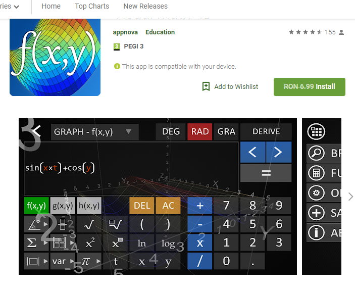 Visual Math 4D - Android app Giveaway | Games | Software