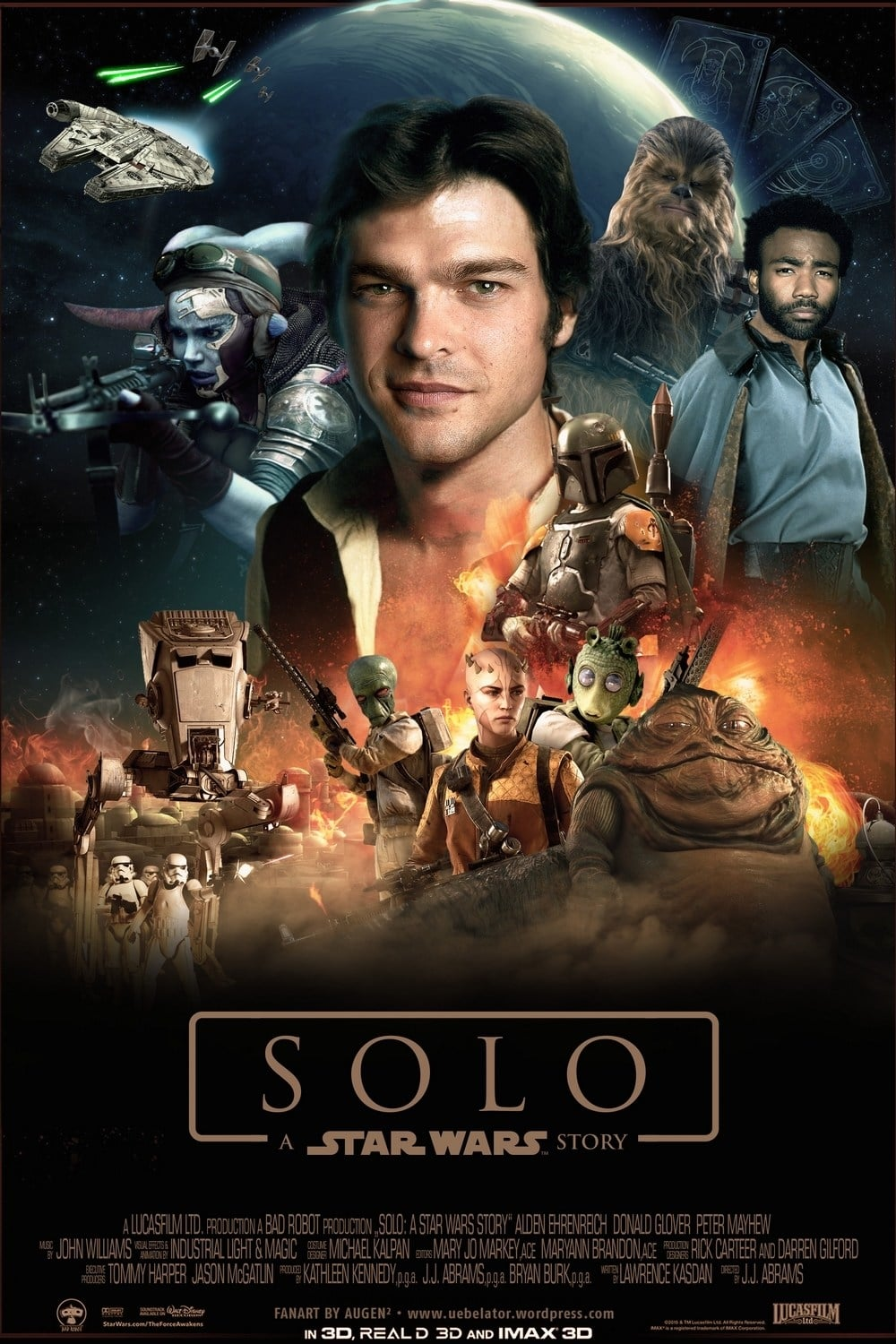 Solo: A Star Wars Story (2018) BluRay 1080p 5.1CH x264