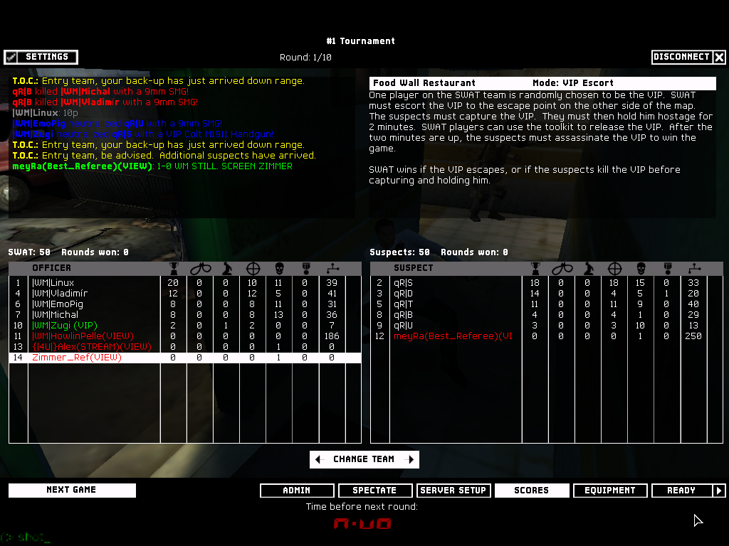 qR| vs |WM| - 2nd Semifinal ~ 6 - 3   Shot00001