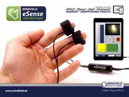 Mindfield Biosystems e Sense Skin Response sensors