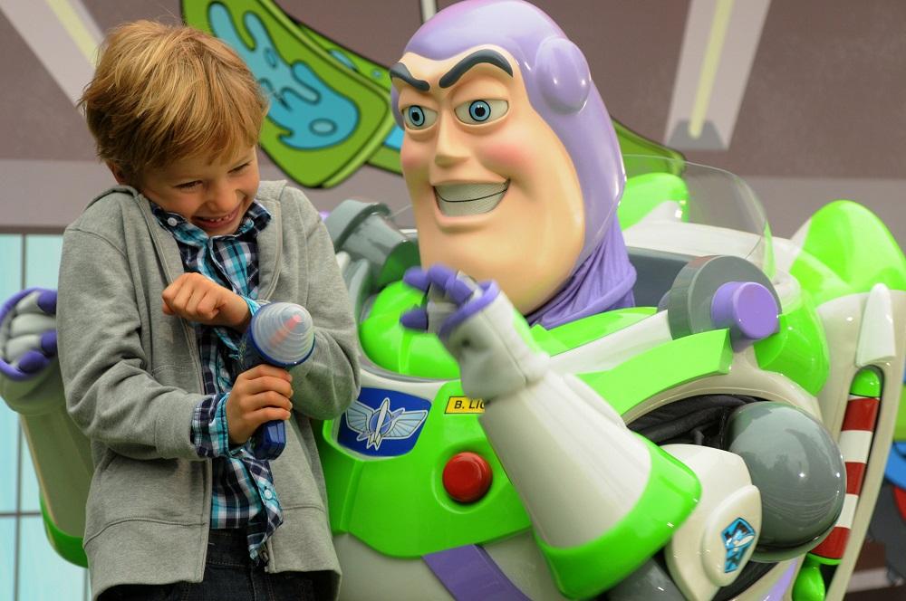 Meet characters at Disneyland Paris