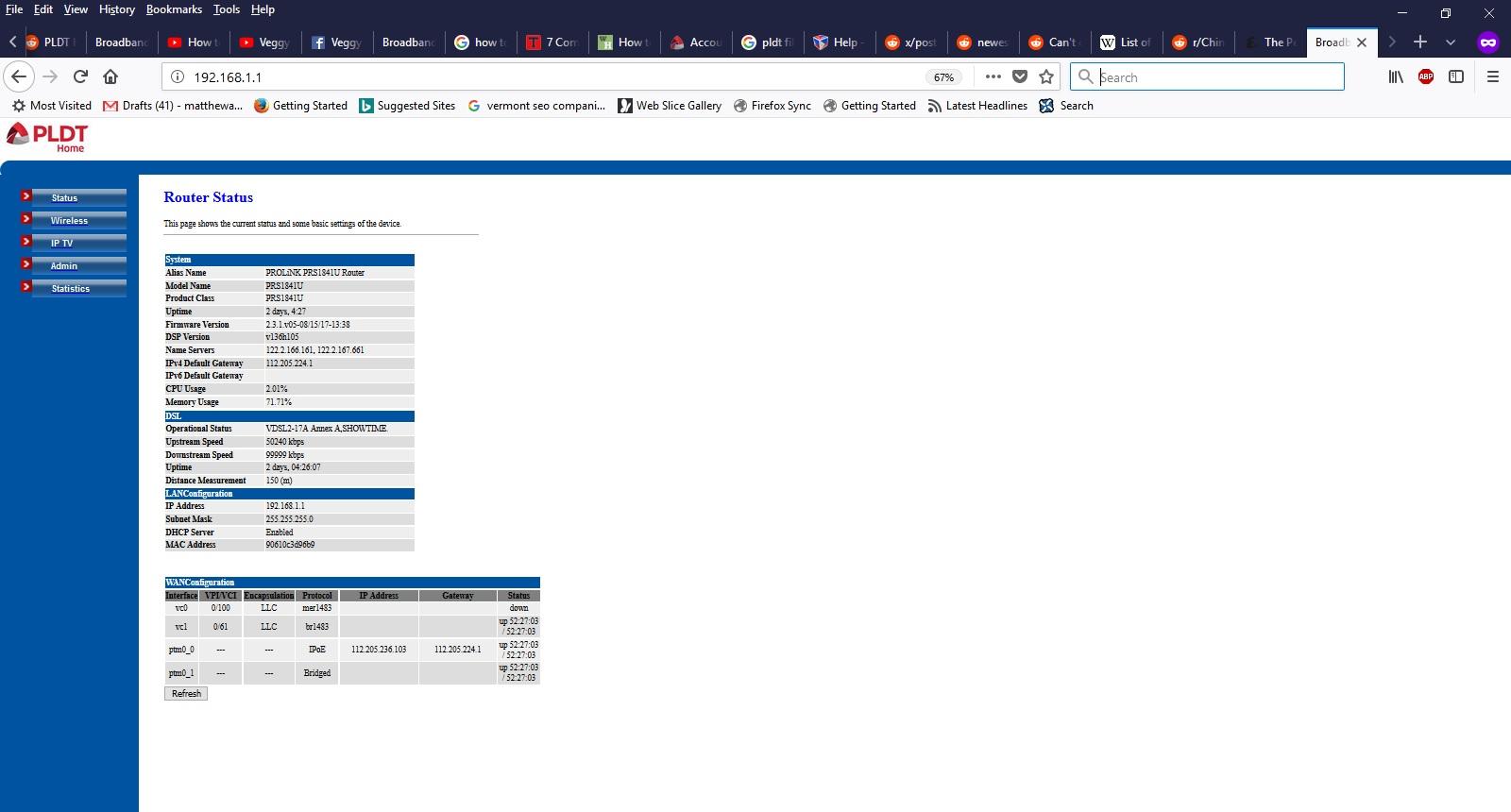 PLDT dashboard — imgbb com