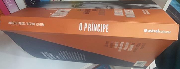 Livro O Príncipe, de Marcelo Cabral e Regiane Oliveira