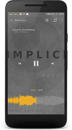 Music Player Mezzo Full 2017.09.01 beta APK