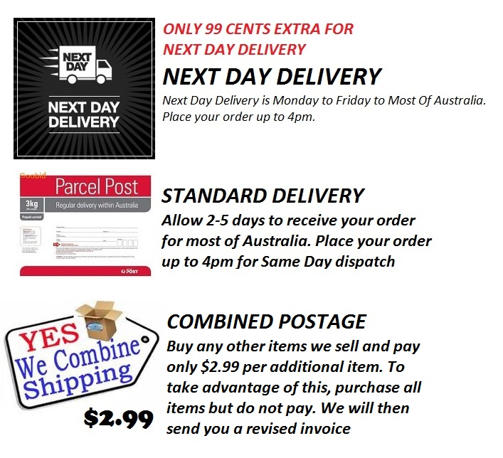 1 delivery combined postage