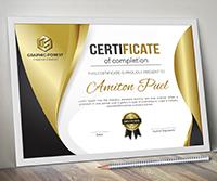 Modern Certificate - 1