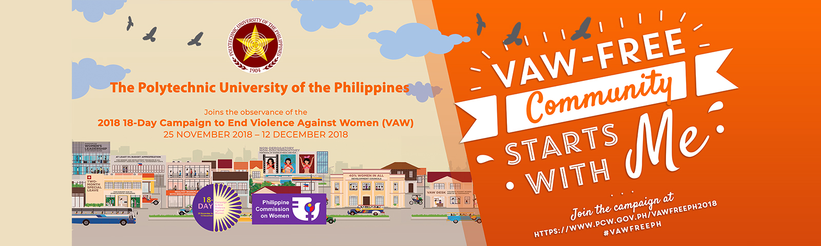 2018 18-Day Campaign to End VAW