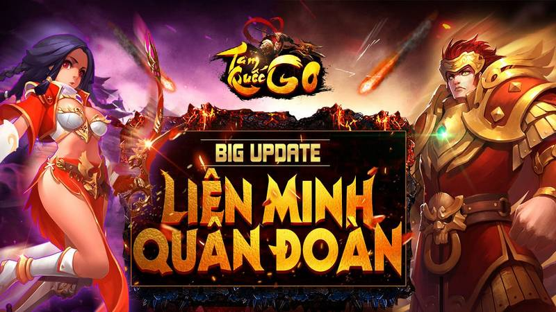 Giftcode - Tam Quốc GO update LMQĐ
