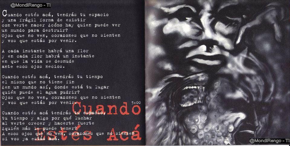 Artes de los discos de La Renga - 1º entrega