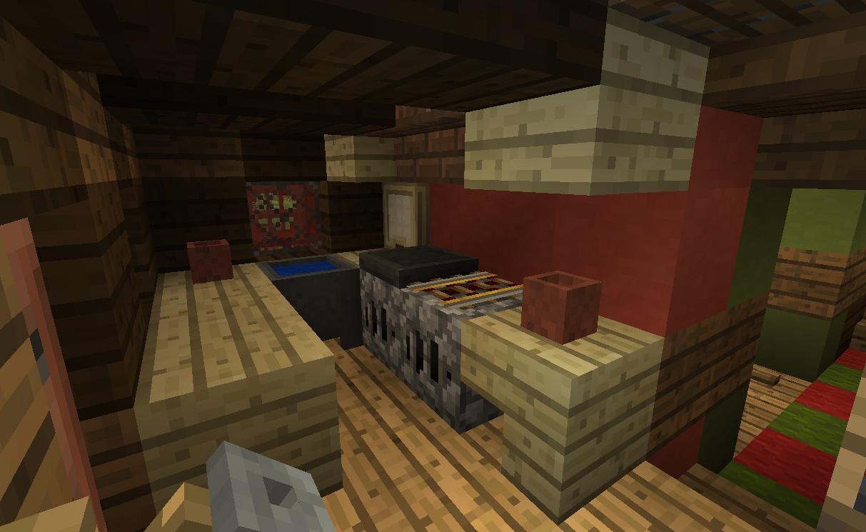 Birch trapdoor as tray