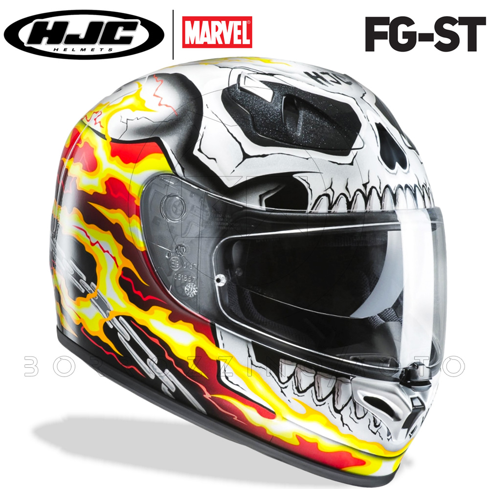 Hjc casco moto integral Fg st Ghost Rider Mc1 S