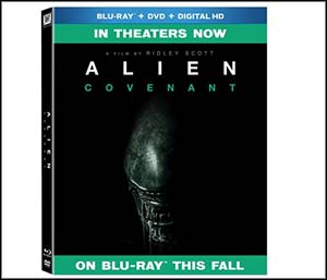 Alien: Covenant Blu Ray & DVD