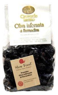 Majatica di Ferrandina olives, Bag of olive olives seasoned Majatica di Ferrandina
