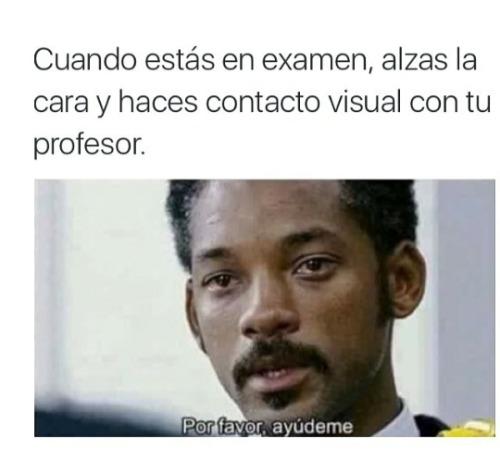 Memes del colegio - exámen
