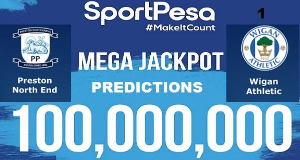 Sportpesatips - Preston vs Wigan Predictions & H2H:: Sportpesa Mega Jackpot Predictions