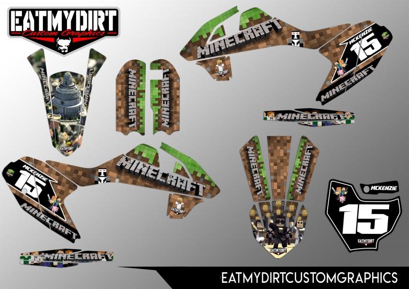 FOR KTM 50 2016-2018 CUSTOM GRAPHICS KIT STICKERS MOTOCROSS