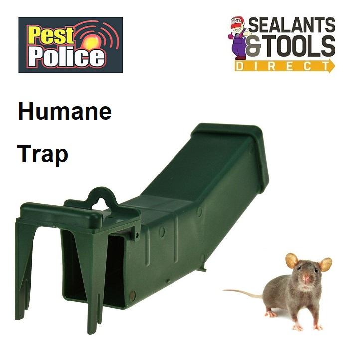 Pest Police Humane Tilt Mouse Trap O312064