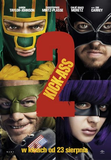Kick-Ass 2 (2013) PL.BRRip.XviD-GR4PE | Lektor PL
