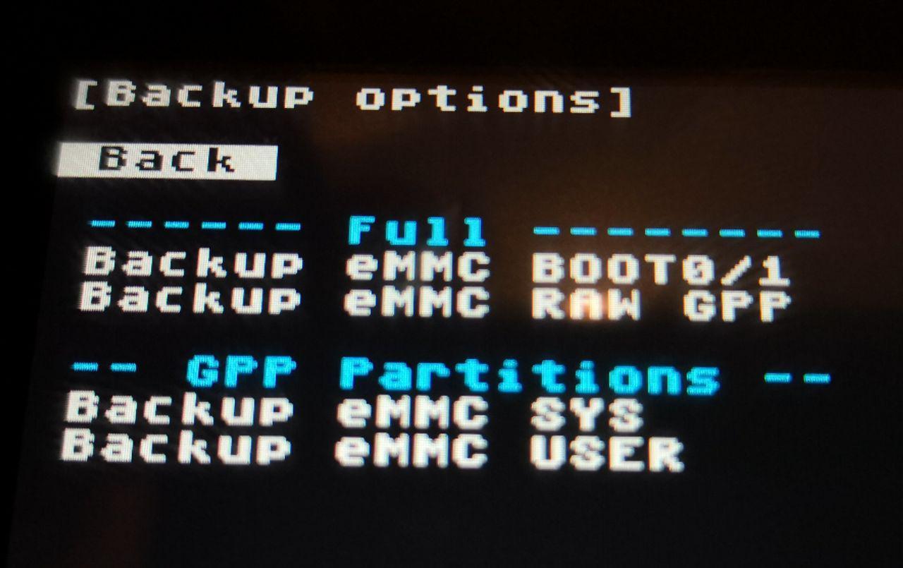 Hekate CFW: Hacer backup/restaurar de la NAND de tu switch con Fusée