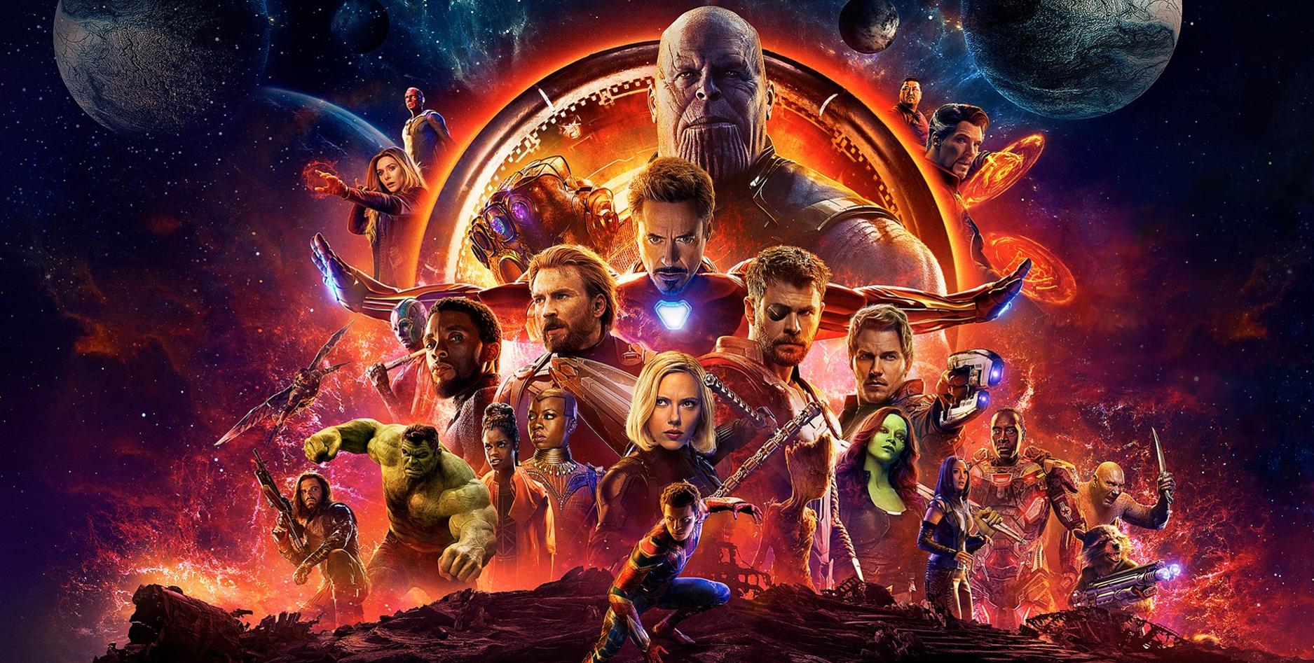 Infinity War Poster Mistake