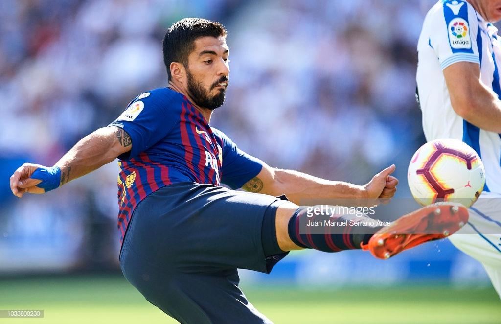 صور مباراة : ريال سوسيداد - برشلونة 1-2 ( 15-09-2018 ) Uu