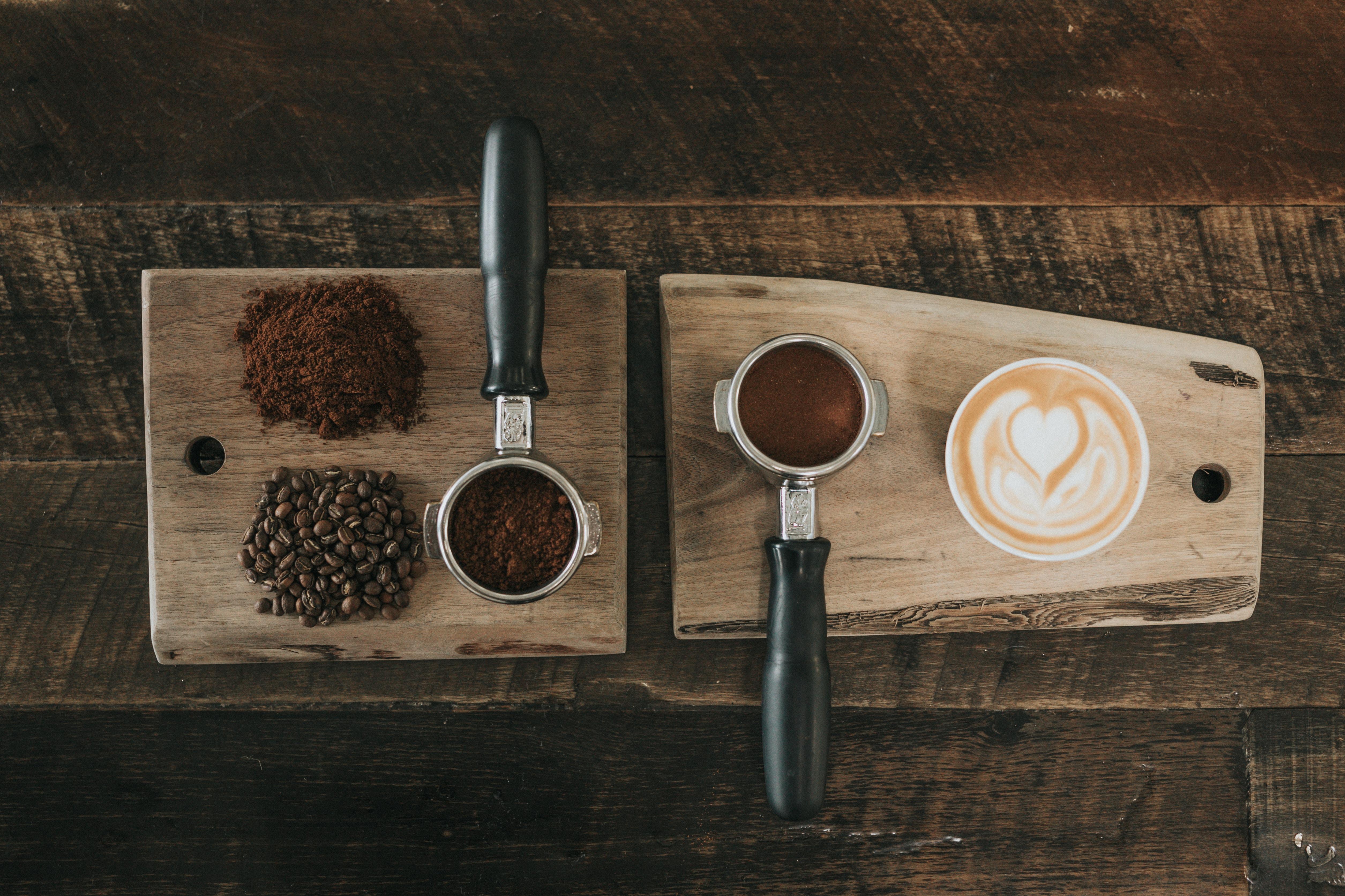 Kawa ziarnista, a mielona