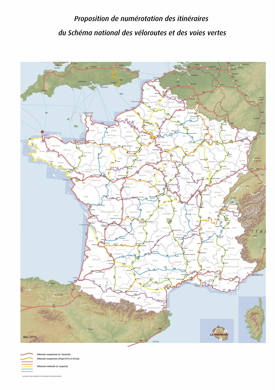 Principales ciclorutas nacionales e internacionales