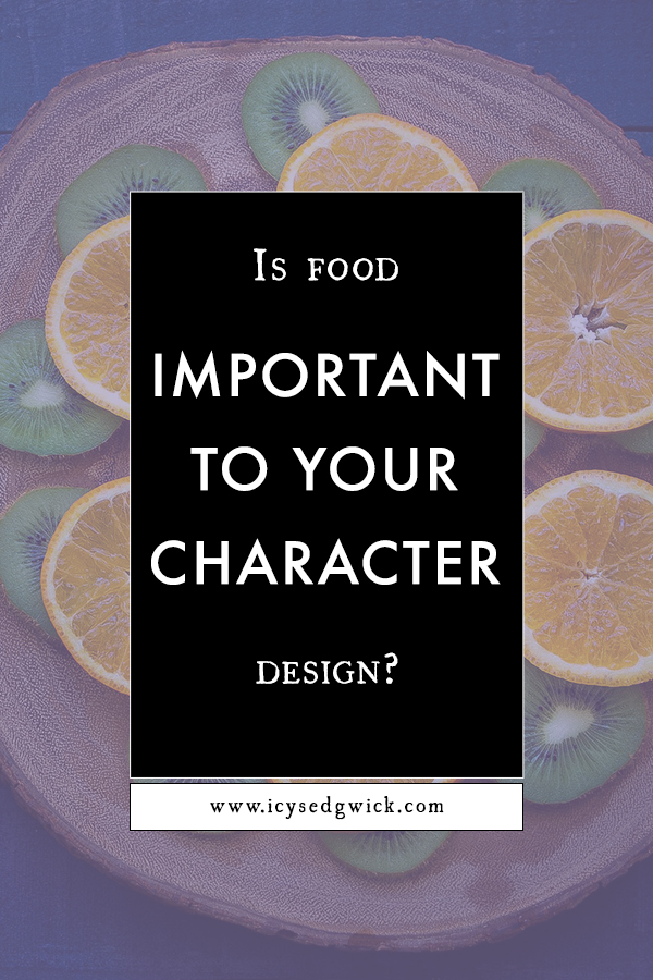 Food can be a tremendous way to improve your character design. This post explores how you can use food for your own writing.