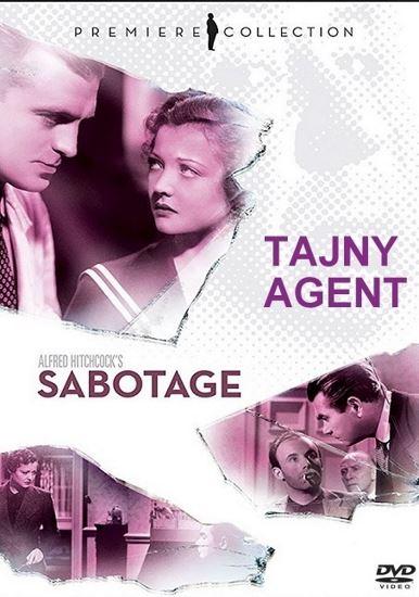 Tajny agent / Sabotage (1936) PL.AC3.DVDRip.XviD-GR4PE | Lektor PL