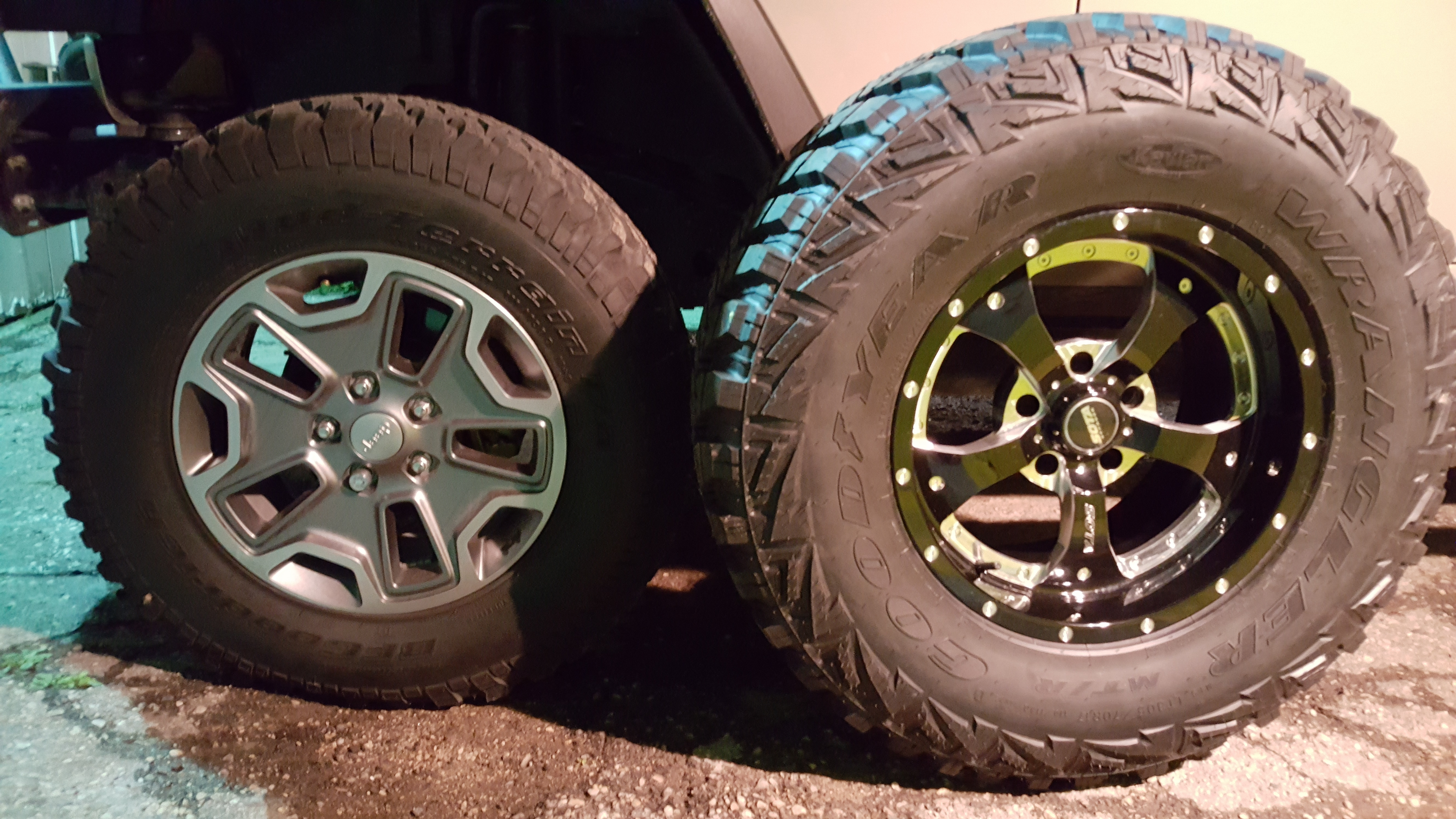 Which Tire Sizes Are Considered 35 s Jeep Wrangler Forum