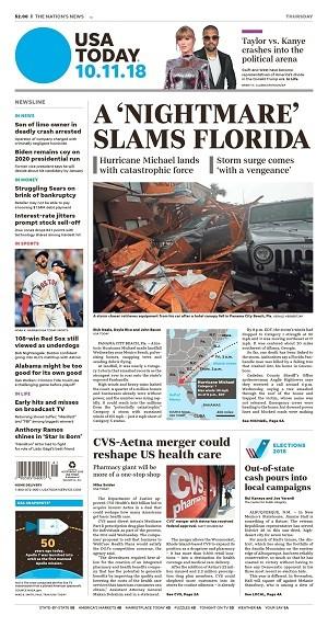 Download USA Today - October 11, 2018 (.pdf) Torrent