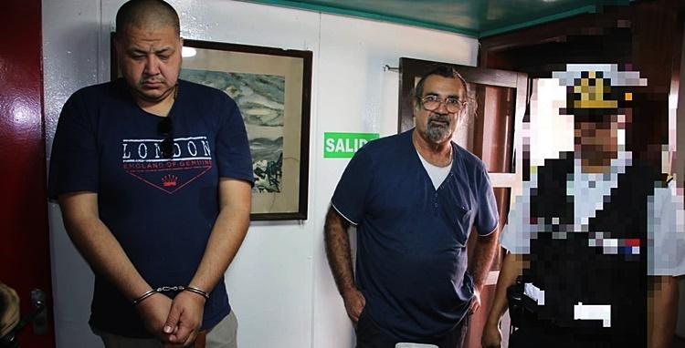 Detienen a capitán de barco con más de 150 kg de cocaína