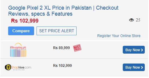 Pixel 2 XL price