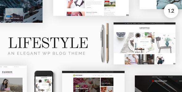 Lifestyle v1.1.5 - Responsive WordPress Blog Theme