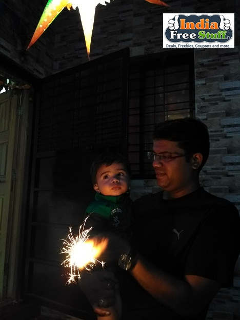 Diwali with my son