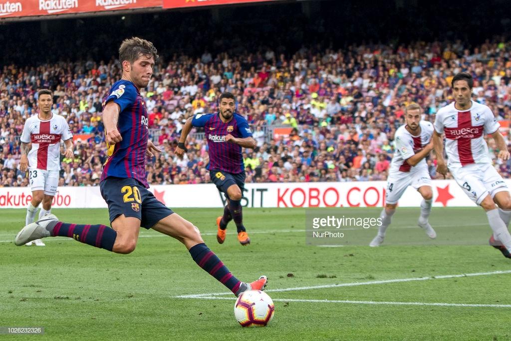 صور مباراة : برشلونة - هويسكا 8-2 ( 02-09-2018 )  R9