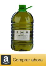 Comprar Garrafa 5 litros Aceite de Oliva Virgen Extra Arbequina, Germanor