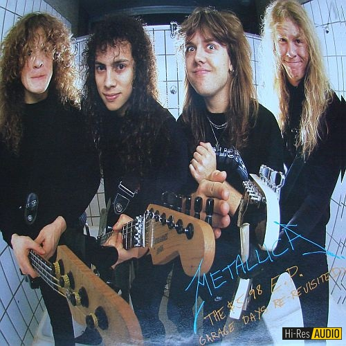Metallica - The $5.98 E.P. Garage Days Re-Revisited (1987) [FLAC 96 kHz/24 Bit]