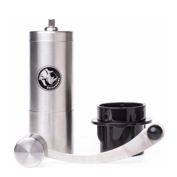 ręczny młynek do kawy żarnowy rhinowares hand coffee grinder do alternatywnych metod