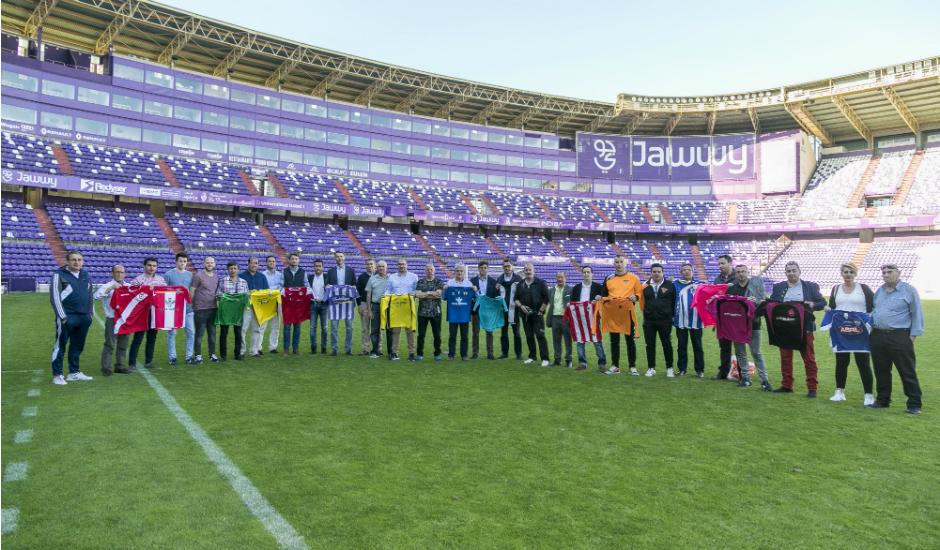 Compromiso del Real Valladolid con el fútbol base de Castilla y León 9525n_convenio_web