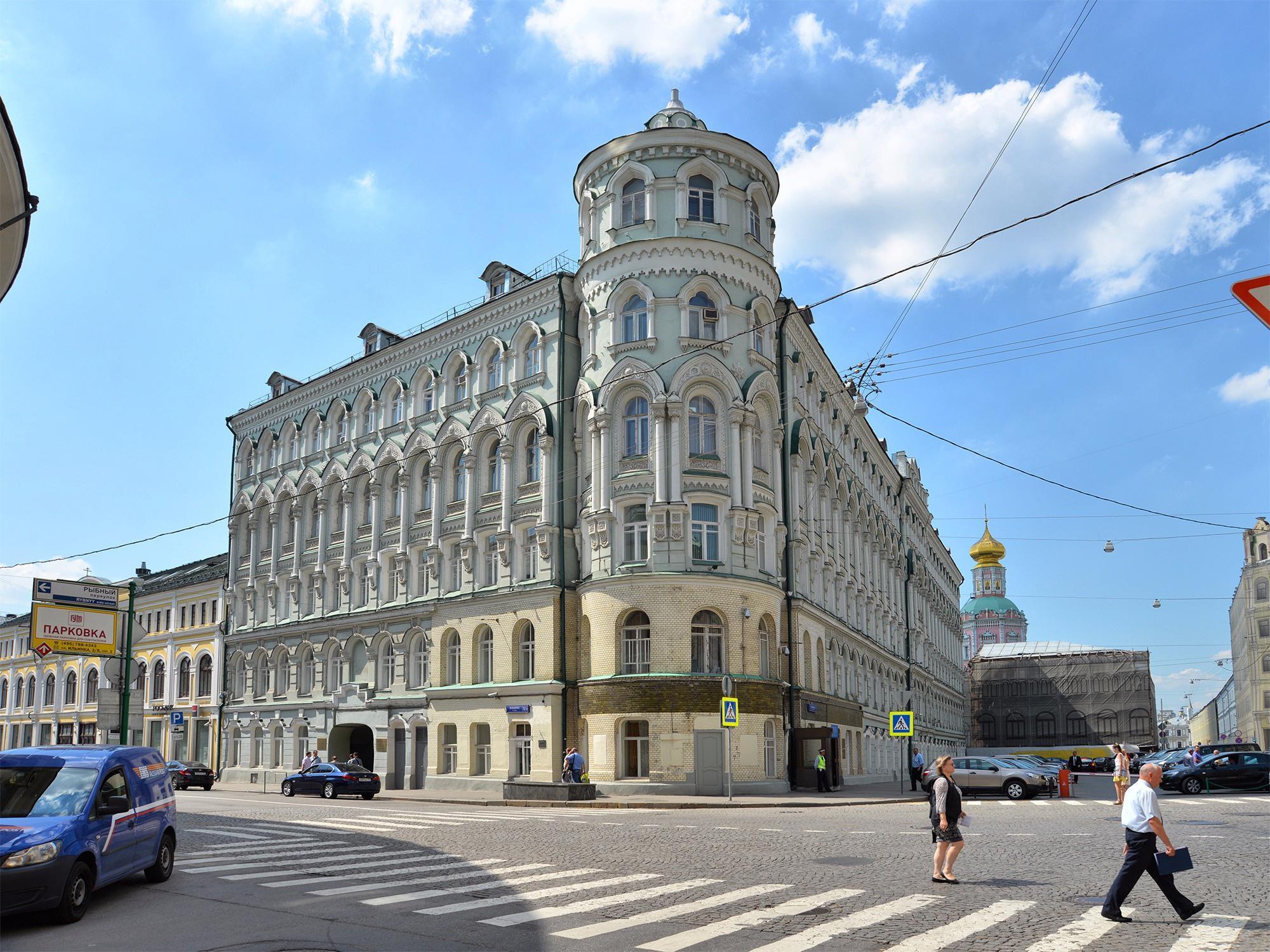 Доходный дом Троицкого подворья на Ильинке