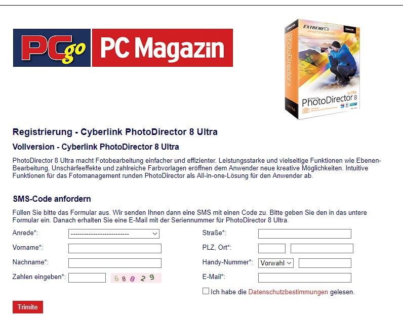CyberLink PhotoDirector 8 giveaway