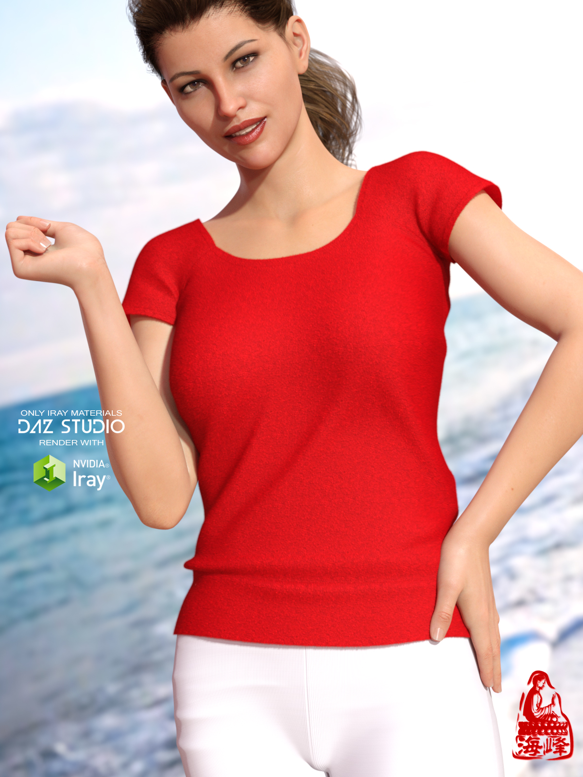 T-shirt for Genesis 8 Female(s)