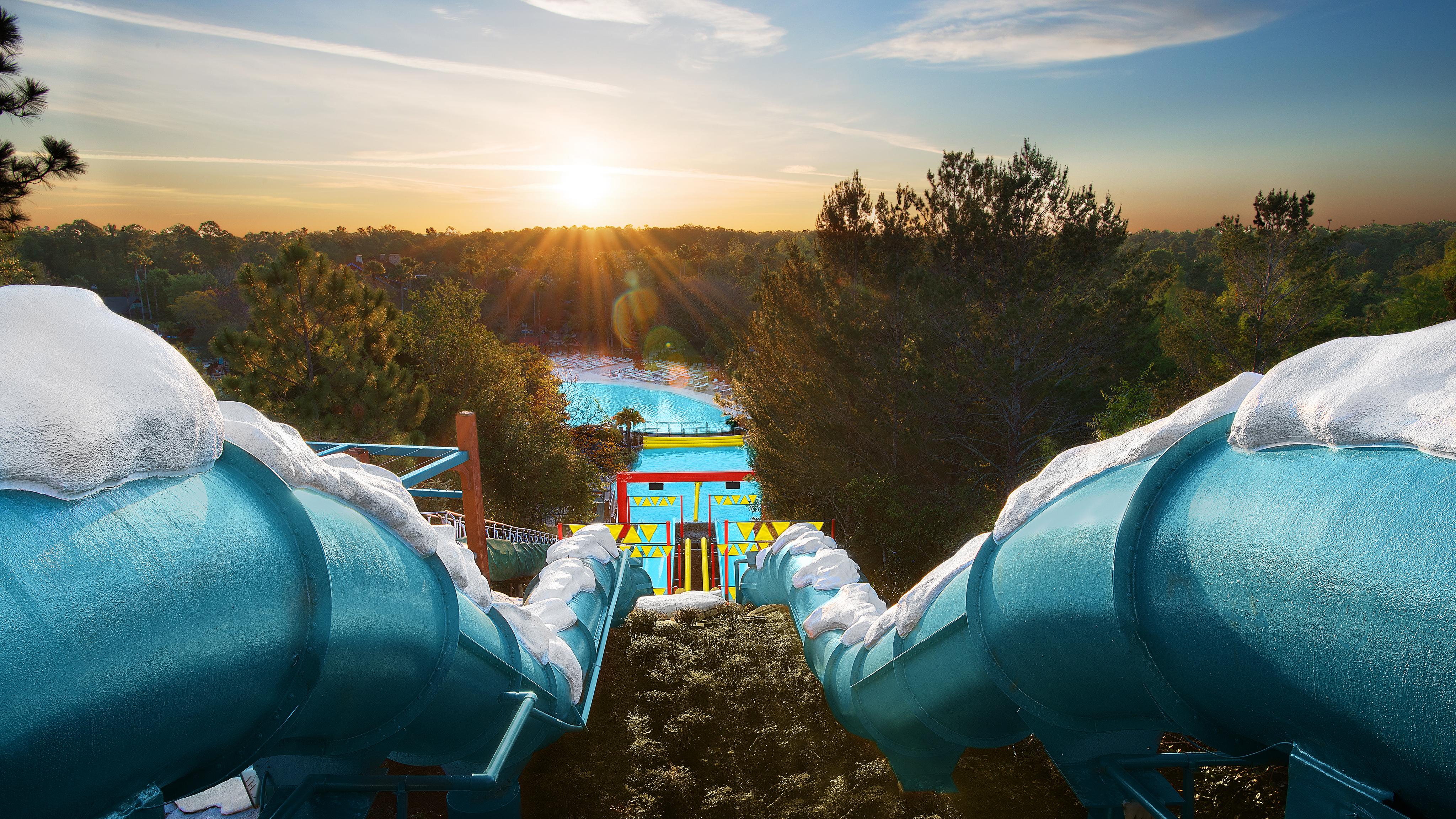 Water parks at Walt Disney World