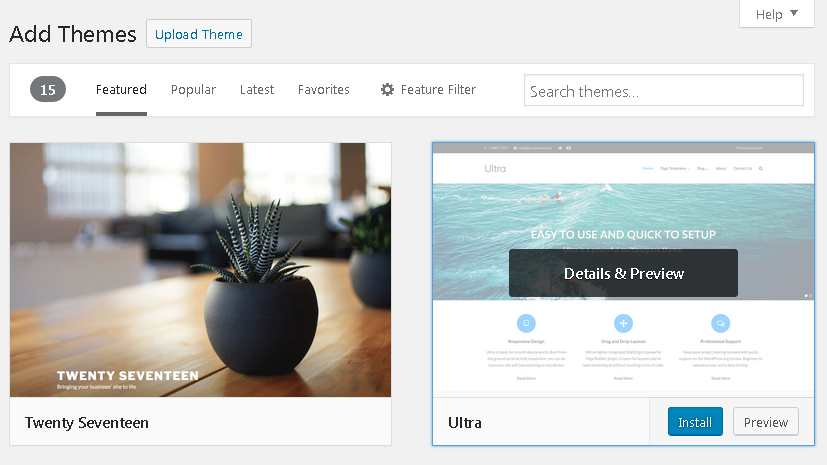 How to Make a Website | Install & Activate a Theme