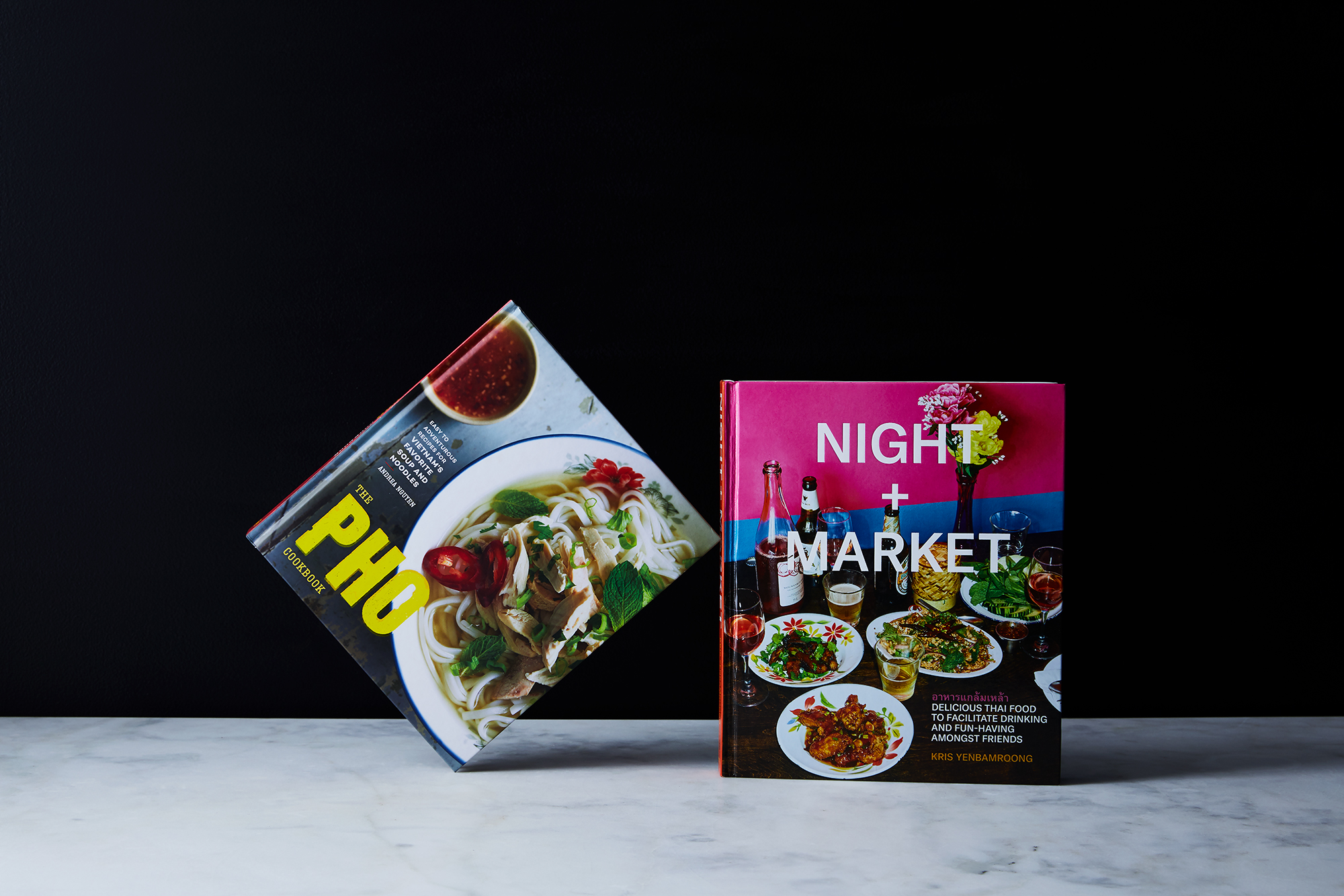 The Pho Cookbook vs  Night + Market | The Piglet