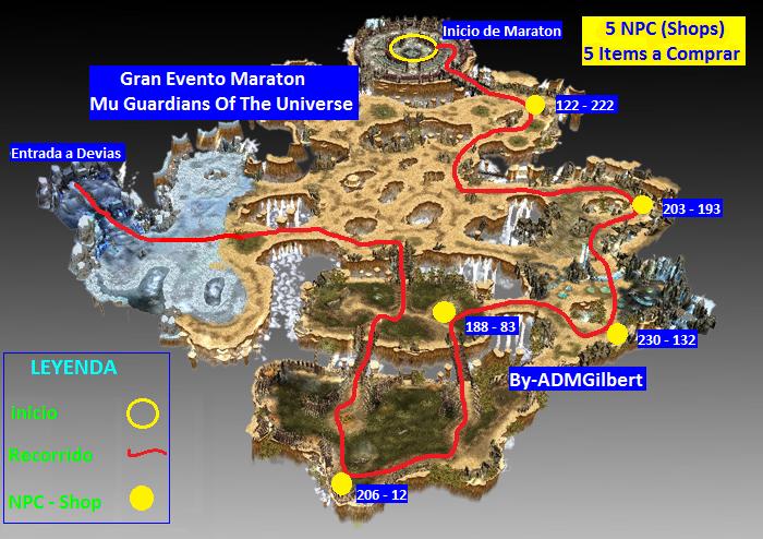 ::::::: GRAN EVENTO MARATON MU GUARDIANS OF THE UNIVERSE ::::::: 001_Maraton_Elbeland_Mu_Guardians