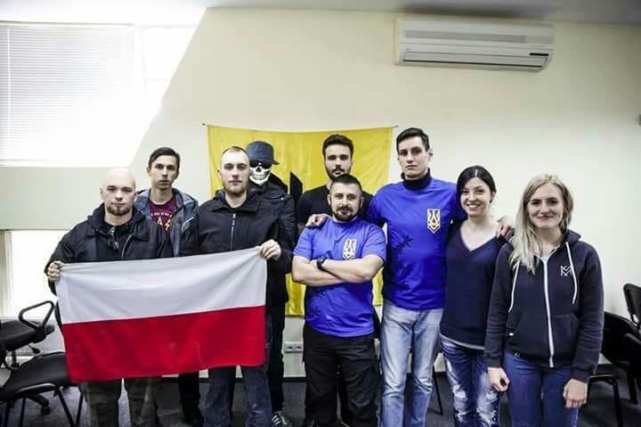 Spotkanie przedstawicieli nacjonalistów w Kijowie